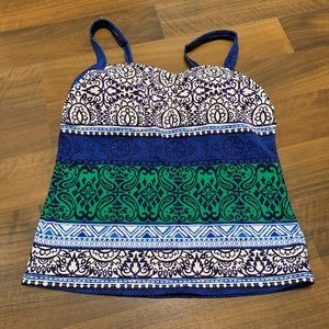 Lands End Bathing Suit Top